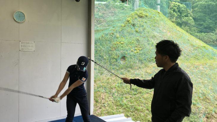 松田鈴英プロ 練習